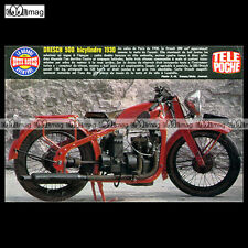 #TP Fiche Moto DRESCH 500 BICYLINDRE 1930 (Classic Motorcycle)