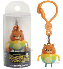Cartoon Hangover BRAVEST WARRIORS IMPOSSIBEAR Plastic Clip-On Keyring Key Chain