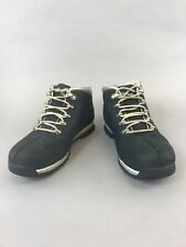 Timberland Boys Size 39 US6 UK5.5 Blue Nubuck Leather Ankle Lace Up Boots