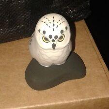Highbank Porcelain, Lochgilphead Scotland White Owl Porcelain Ornament