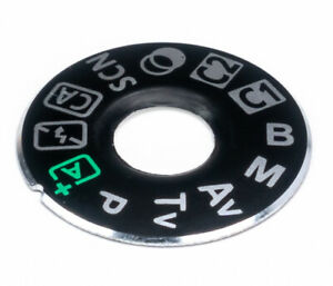 New Dial Mode Plate Interface Cap For Canon 80D 3M Tape & Glue Camera Part