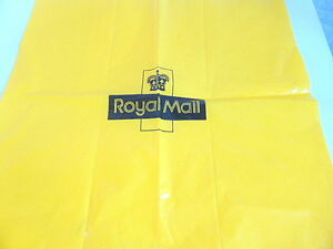 Royal Mail Yellow Plastic Bag - UK Royal Mail Yellow Plastic Back-Staging, Props