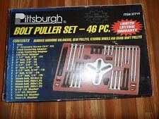Pittsburg 46 Piece Steering Wheel Harmonic Balancer Crankshaft Pulley Puller Set