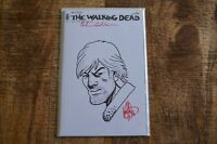 Walking Dead #150 Haeser Sketch Cover & Gaudiano Signature with COA NM