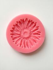 Sunflower Soft Silicone Mold Fondant Mat Cake Decorating Cupcake Design Flower