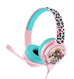 LOL Surprise! Interactive Study Headphones with Boom Mic for Ages 3 Upwards