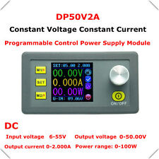 DC Programmable 50V 2A Constant Voltage Current Regulated Power Supply Module