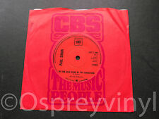 """Paul Simon Me and Julio Down by the Schoolyard Mint 1972 UK 7"""" single"""
