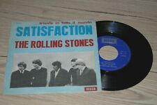 "ROLLING STONES satisfaction Italy 7"" 45rpm TOP COPY"