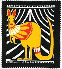 LENS CLEANING CLOTH - AUSTRALIAN ABORIGINAL SCANDI INSPIRED KANGAROO