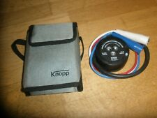 KNOPP MODEL K-3 PHASE SEQUENCE INDICATOR 60-600 Volts HERTZ 25-60