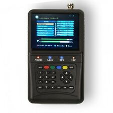 "Premiumx Digital Sat Finder pxf 1000 3,5"" pantalla LCD Satellite señal DVB-S"