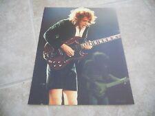 AC/DC Angus Young Live Concert Tour Guitar Color 11x14 Photo #4