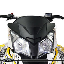 2013+ Ski-Doo XRS 600/800 TNT PDP Snowmobile Windshield _ MATTE BLACK WINDSHIELD