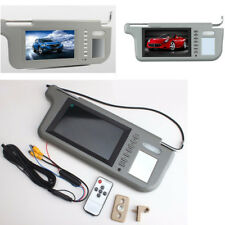 "7"" Car Right Side Sun Visor Rearview LCD Monitor For DVD/VCD/GPS/TV Input Signal"