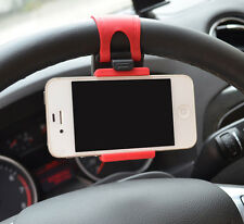Universal Mobile Phone - PDA Car Steering Wheel Mount Holder Stand Cradle
