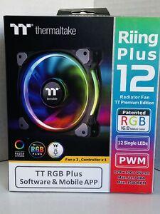 Thermaltake Riing Plus Computer case Fan 12 cm Multicolour