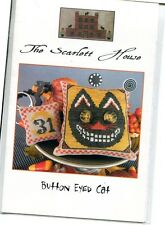 The Scarlett House: Button Eyed Cat