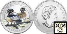 2013 'Wood Duck' Colorized 25-Cent Coin (Oversized) (13242)