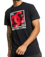 DC SHOES MENS T SHIRT.NEW MAGNUM BLACK SHORT SLEEVED CREW COTTON SKATE TOP 9W 47