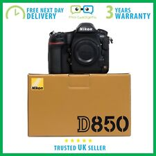 New Nikon D850 45.7MP FX CMOS Sensor 4K Video DSLR - 3 Year Warranty
