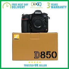 Nouveau Nikon D850 45.7MP FX Capteur CMOS 4K Video DSLR-Garantie 3 An