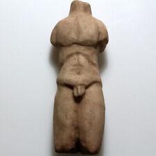 SCARCE-ROMAN MARBLE HERCULES TORSO ORNAMENT STATUE CIRCA 100-300 AD