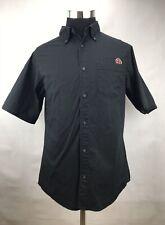 VINTAGE INDEPENDENT TRUCK COMPANY Black Button Shirt Sz L Excellent
