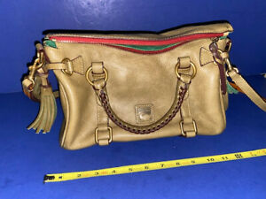 Dooney & Bourke, Satchel, Leather, Beige, Lightly Used, J4046893