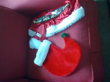 Santa shorts/boot/hat