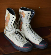 Détails sur Converse X Tom et Jerry Etg Haut Blanc Chaussures 165736C Homme Taille 6 Femme 8