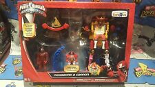 Power Rangers Ninja Steel Megazord & Cannon Exclusive Action Figure Set