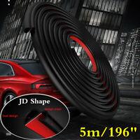 "196"" Push-on JD Shape Rubber Seal Sealing Strips For Car Door/Boot /Bonnet/Edge"