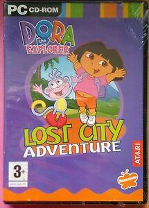 DORA THE EXPLORER LOST CITY ADVENTURE PC CD-ROM GAME brand new & sealed UK