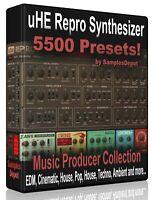 5,500 uHE REPRO Presets Pack - Cubase, Logic Pro FL Studio, Bitwig Ableton Sonar