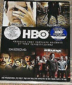 Brand New DVD HBO Promo DVD Wahlberg Entourage Deadwood Rome Big Love
