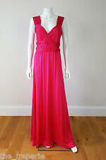 *ISSA* SILK JERSEY LONG GRECIAN DRESS (UK 14)