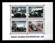 GERMANIA (BERLINO) - BF - 1971 - Cinquantenario delle corse automobili
