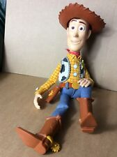 Disney/Pixar Toy Story Thinkway Toys Pull String Woody Doll *WORKING*