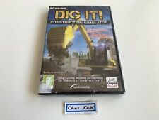 Dig It Construction Simulator - PC - FR - Neuf Sous Blister