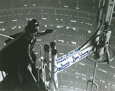 Dave Prowse Star Wars Empire Strikes with quote hand signed photo COA UACC