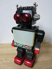 Anni 70 /'80 plastica-Giove ROBOT-ASTRONAUTA SPACE TOY CHINA-Boxed