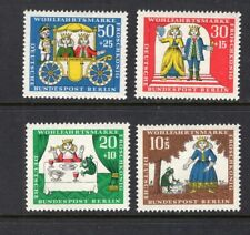 Germany Berlin 1965 FAIRY TALE TYPE CINDERELLA SC 9NB33-36 MNH STAMPS