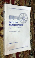 Model Machines Replica Steam Models,Hadley,VG-,SB,1992,Sgn'd,Second Ed.    b30