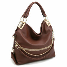 Dasein Womens Handbags Faux Leather Hobo Large Shoulder Bag Travel Purse