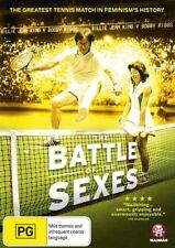 The Battle Of The Sexes (Documentary 2014) LIKE NEW R4 DVD