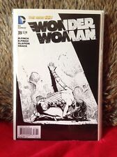 WONDER WOMAN # 39 FINCH SKETCH VARIANT 1 in 50 DC  COMICS