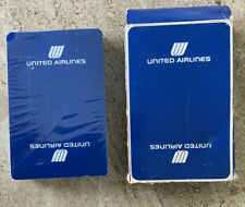 Vintage United Airlines Playing Cards Cards Sealed