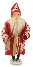 "Bethany Lowe Vintage style Father Christmas Santa Figurine, 7"" tall, Nwt,Style 2"