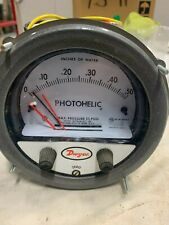 Dwyer Photohelic Differential Pressure Switch/Gage